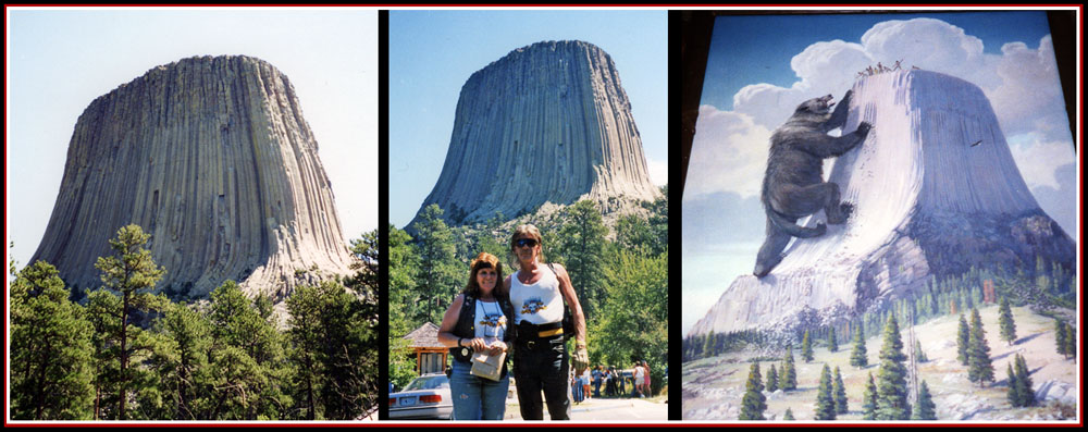 At Devils Tower
