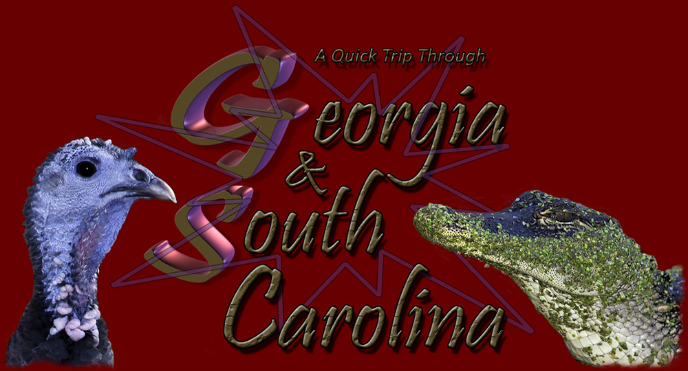 A Quick Trip Through Georgia & South Carolina - Photography by Kirk M. Rogers