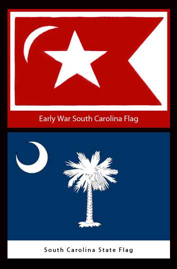 South Carolina Flags